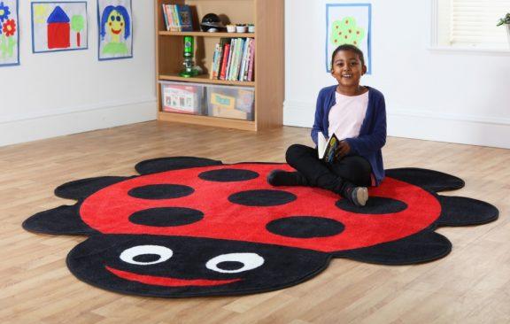 Back to Nature Shaped Ladybird Carpet