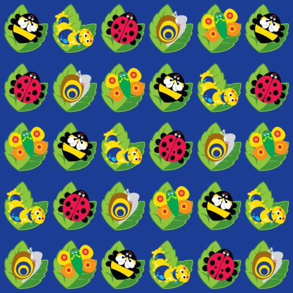 Back to Nature Square Bugs Mat
