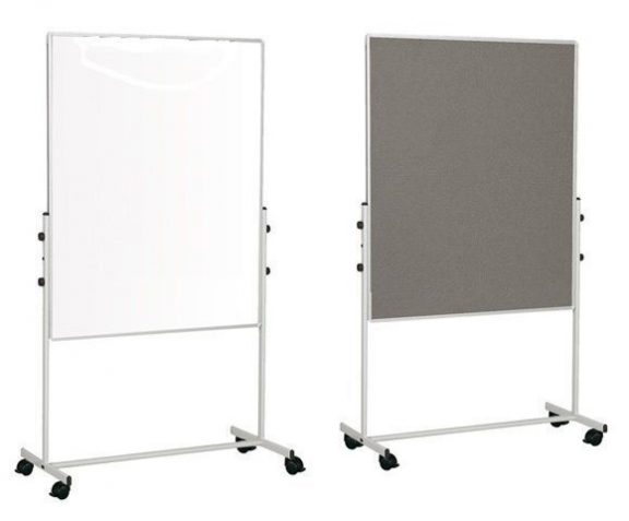 Bio Mobile Whiteboard and Noticeboard