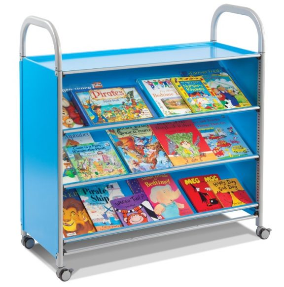 Callero Tilted Shelf Trolley