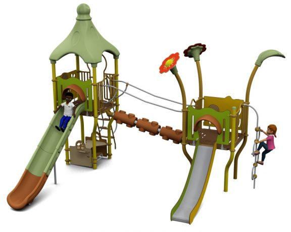 Cameo Outdoor Playcentre J