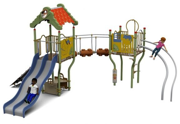 Cameo Outdoor Playcentre M