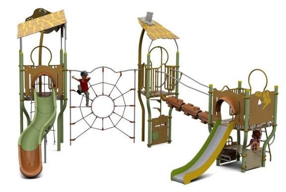 Cameo Outdoor Playcentre P