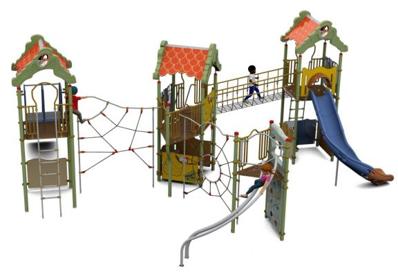 Cameo Outdoor Playcentre T