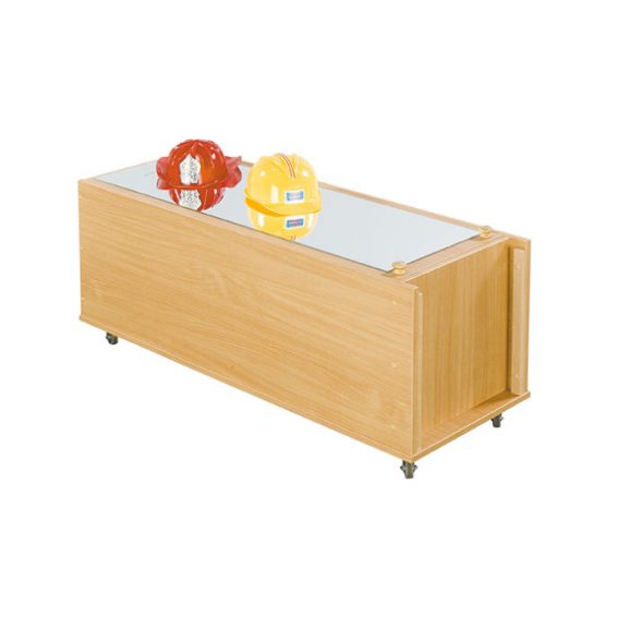 Celo Combo Mirror Table & Dress Up Cabinet