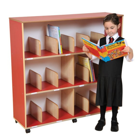 Children's Bookcase with Drywipe Back