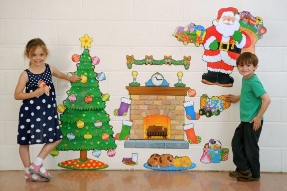 Christmas Scene Bulletin Board Pack
