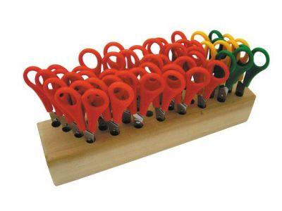 Class Pack Scissors With Tidy Block