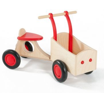 Classic Wooden Tractor