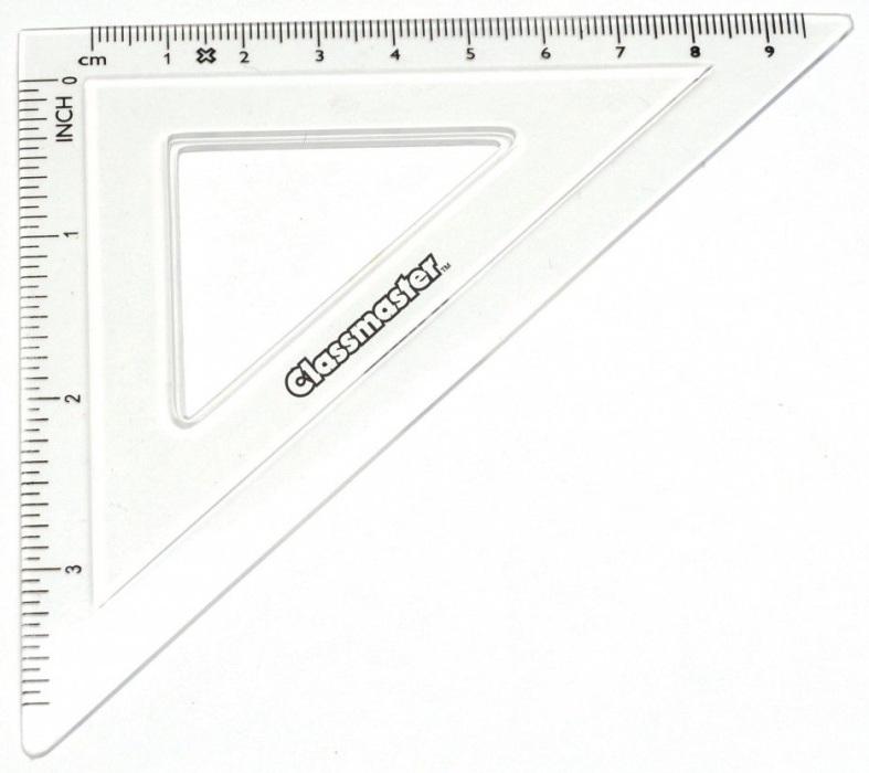 Classmaster 45° Set Squares