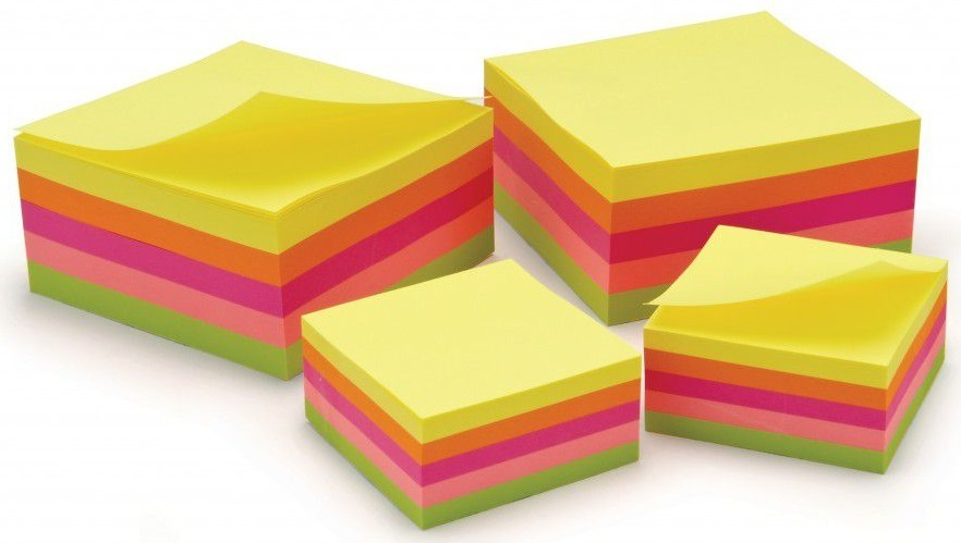 Classmaster Neon Repositionable Note Pads