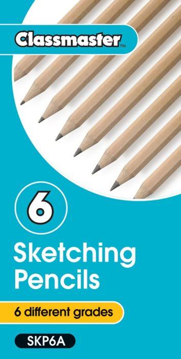 Classmaster Sketching Graphite Pencils