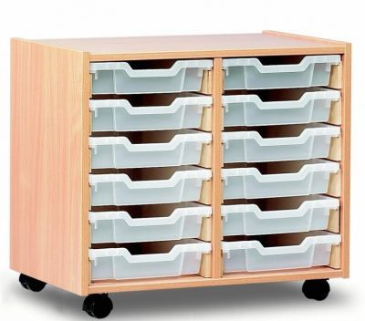 Double Shallow Low Tray Unit