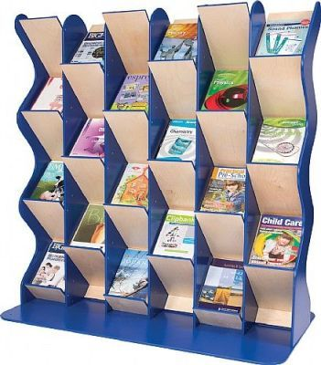 Colourway Zig Zag Book Display Triple Bay
