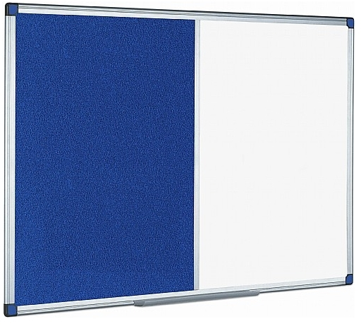 Combination Magnetic Whiteboard & Noticeboard
