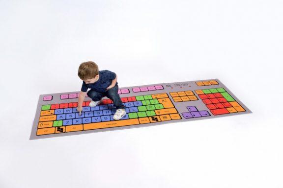 Computer Keyboard Mat