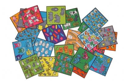 Counting Tiles 1 - 24