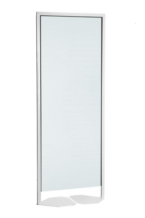 DL Freestanding Clear PVC Partition Screen