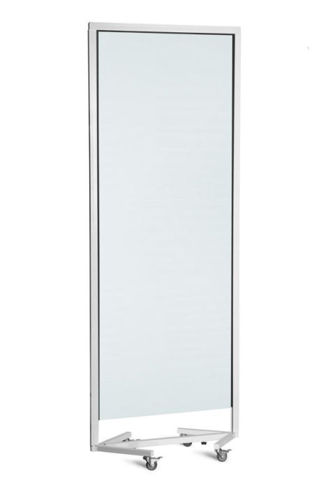 DL Freestanding Clear PVC Screen with Castors