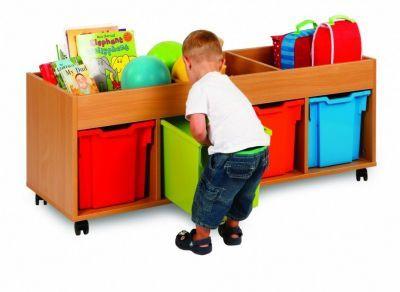 Draw, See and Store Jumbo Tray Storage