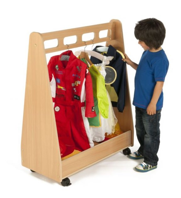 Dressing Up Trolley & Free Standing Mirror Set
