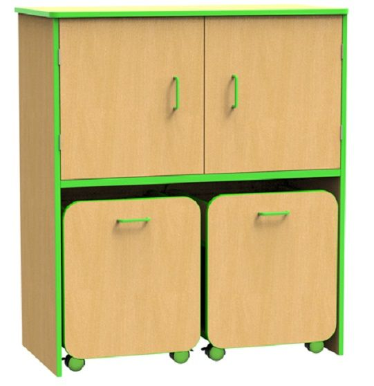 Edge Docking Station for Pull Out Units - Doors