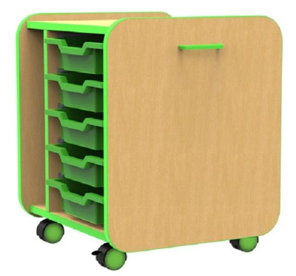 Edge Style Single Pull Out Tray Unit