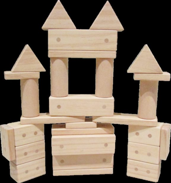 ELS Magnetic Wooden Blocks Set