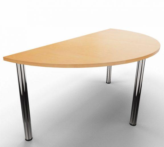 Entente Half Moon Modular Table