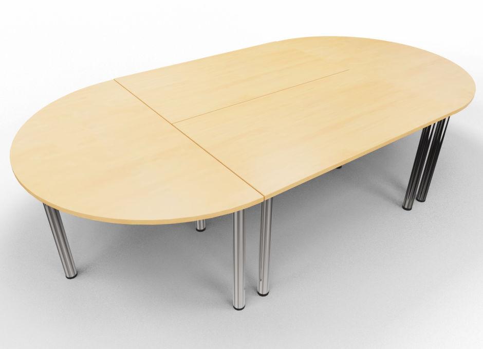 Entente Rectangular and Half Moon Table Bundle