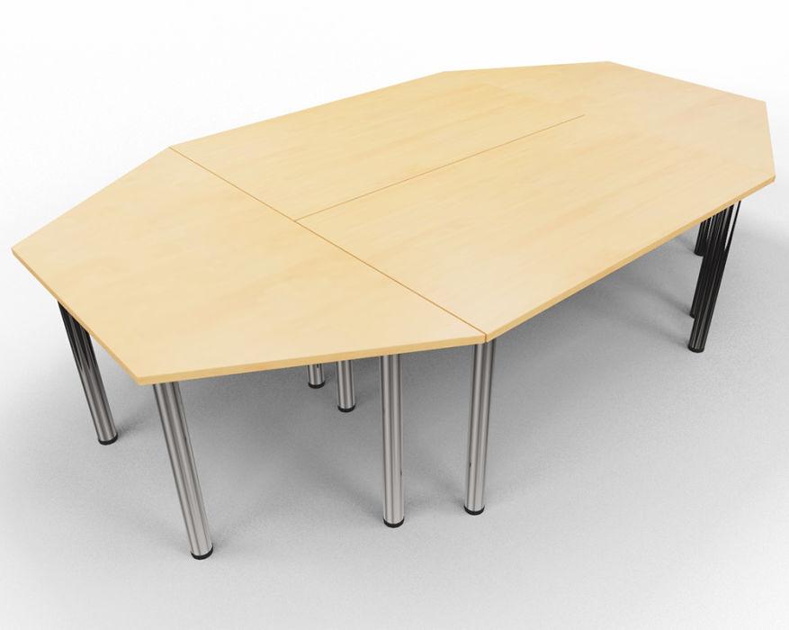 Entente Rectangular and Trapezoid Table Bundle