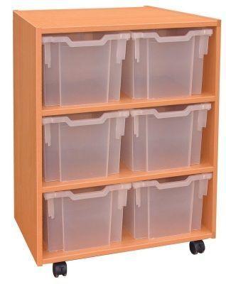 Extra Deep Tray Storage Unit