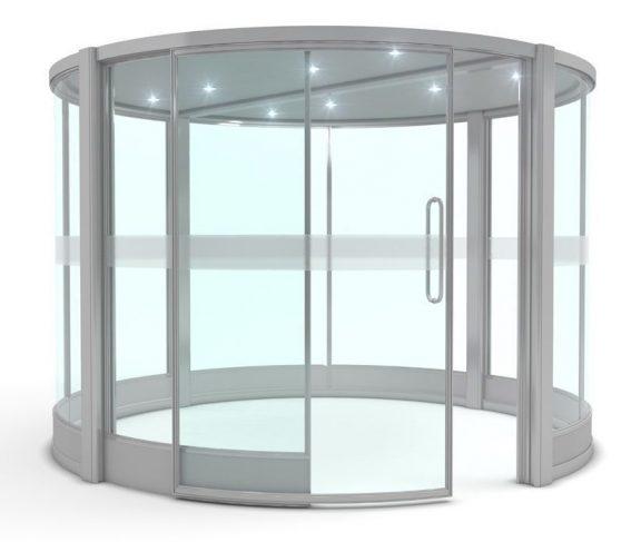 Falinn Circular Glazed Pod