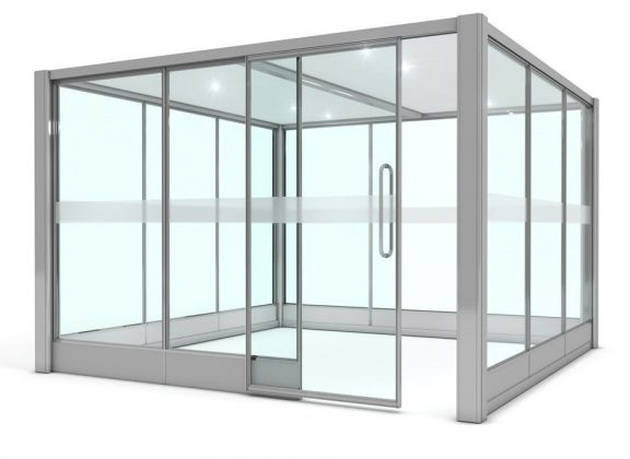 Falinn Square Glazed Pod