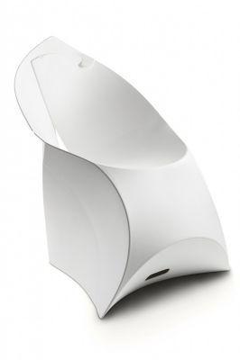 Flux Folding White Folding Chair White