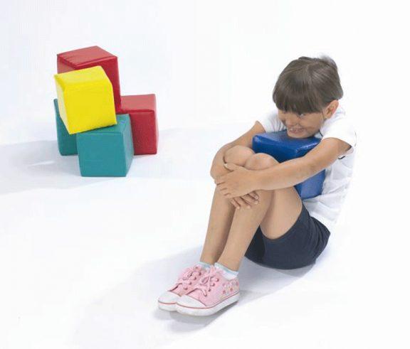 Box of Tricks Foam Cubes & Marker