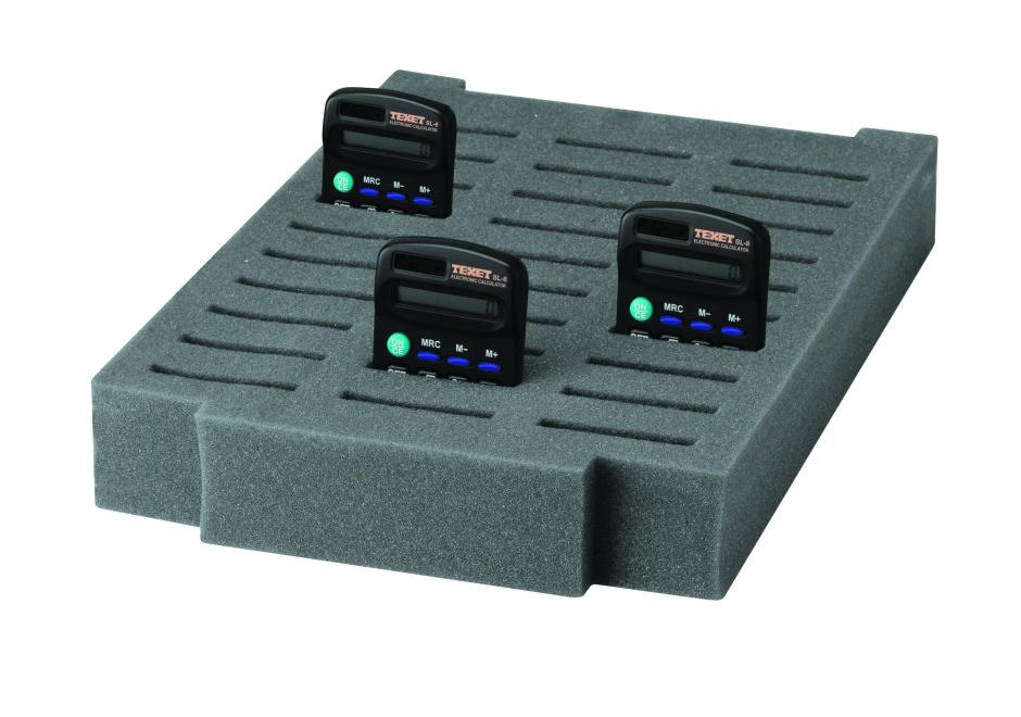 Foam Inserts for Standard Calculators Pack of 6