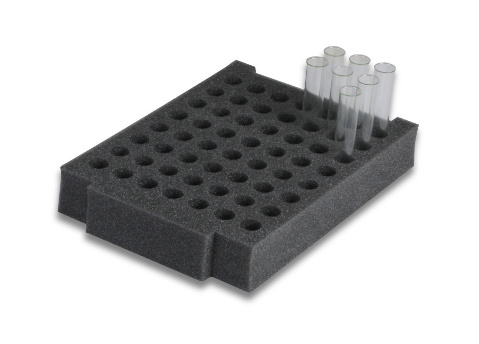 Foam Inserts for Test Tubes - Pack of 6