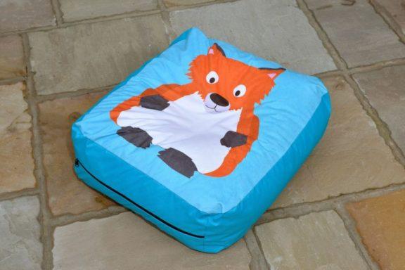 Fox Outdoor Bean Cushion