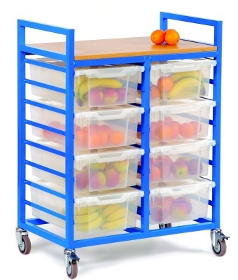 Fruit Trolley with Metal Frame