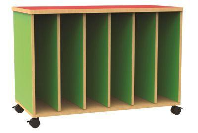 Funky Mobile Big Book Storage Unit