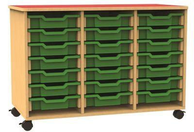 Funky Mobile Triple Tray Storage