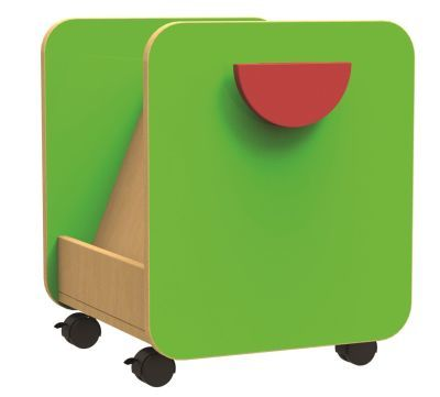 Funky Single Pull Out Book Store and Display Unit