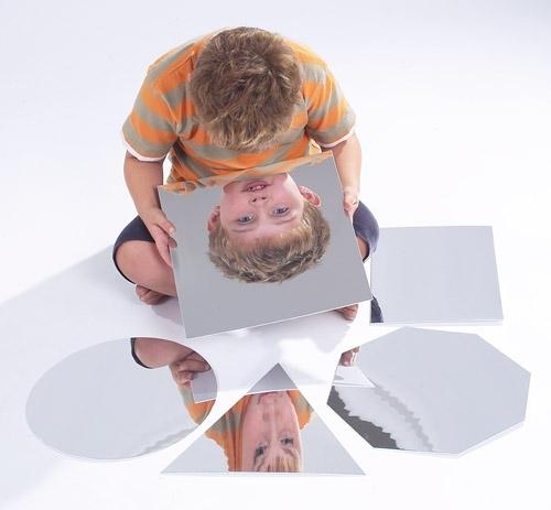 Geometric Shape Mirrors Set Of 6