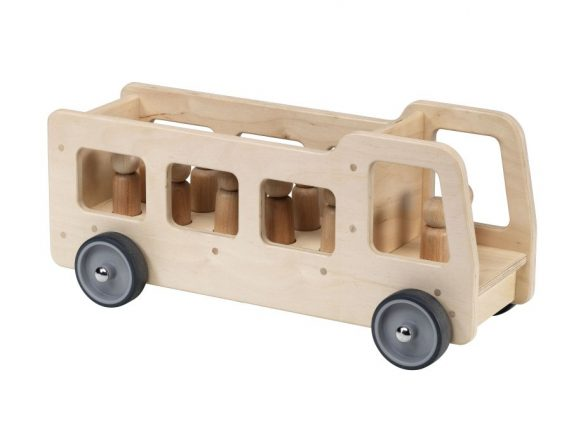 Giant Wooden Bus