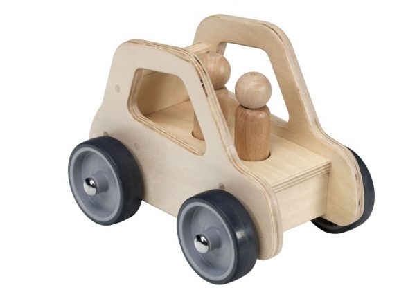 Giant Wooden Car