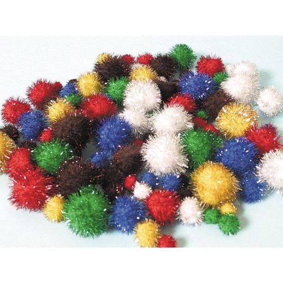 Glitter Pom-Poms