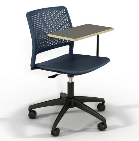 Gratton Task Chair with Writing Tablet Arm