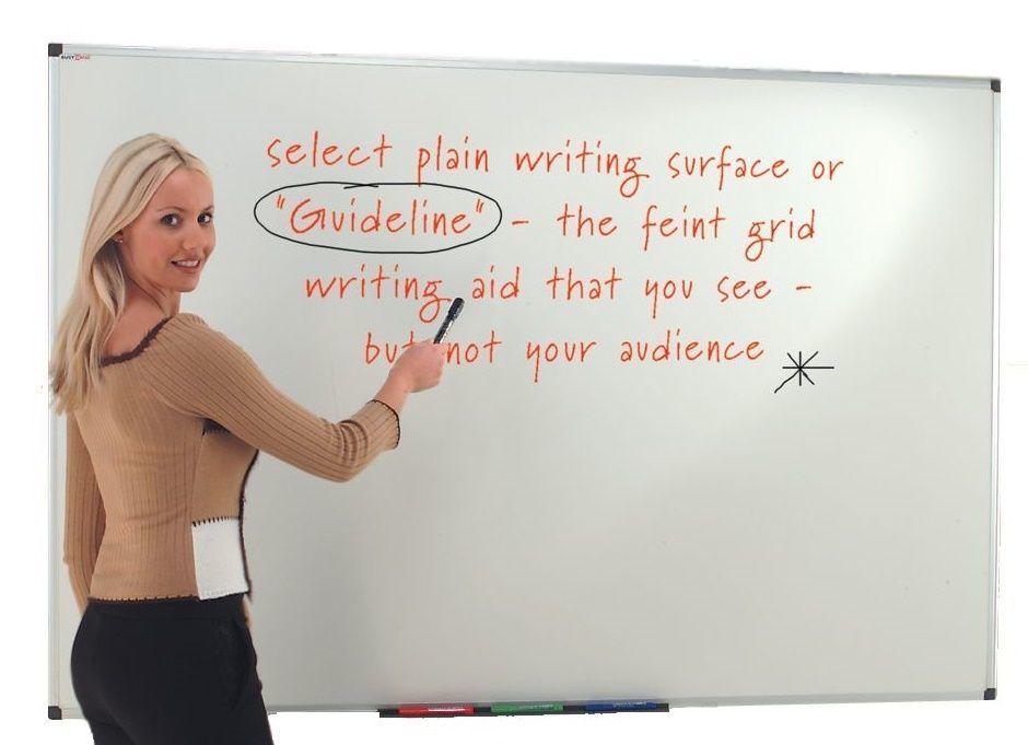 Guideline Whiteboard