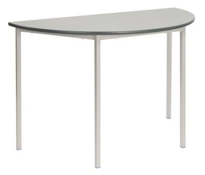 MS Half Moon Welded Classroom Table
